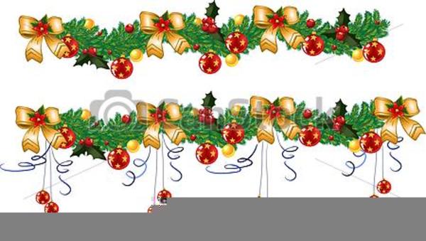 Weihnachts Cliparts Girlande.