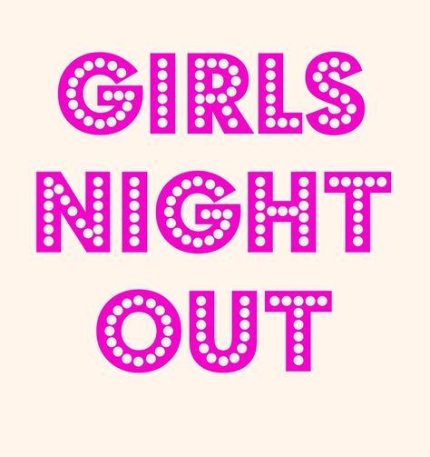 Girls Night Out Clipart.