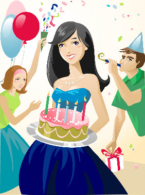 Free Girls Party Cliparts, Download Free Clip Art, Free Clip.