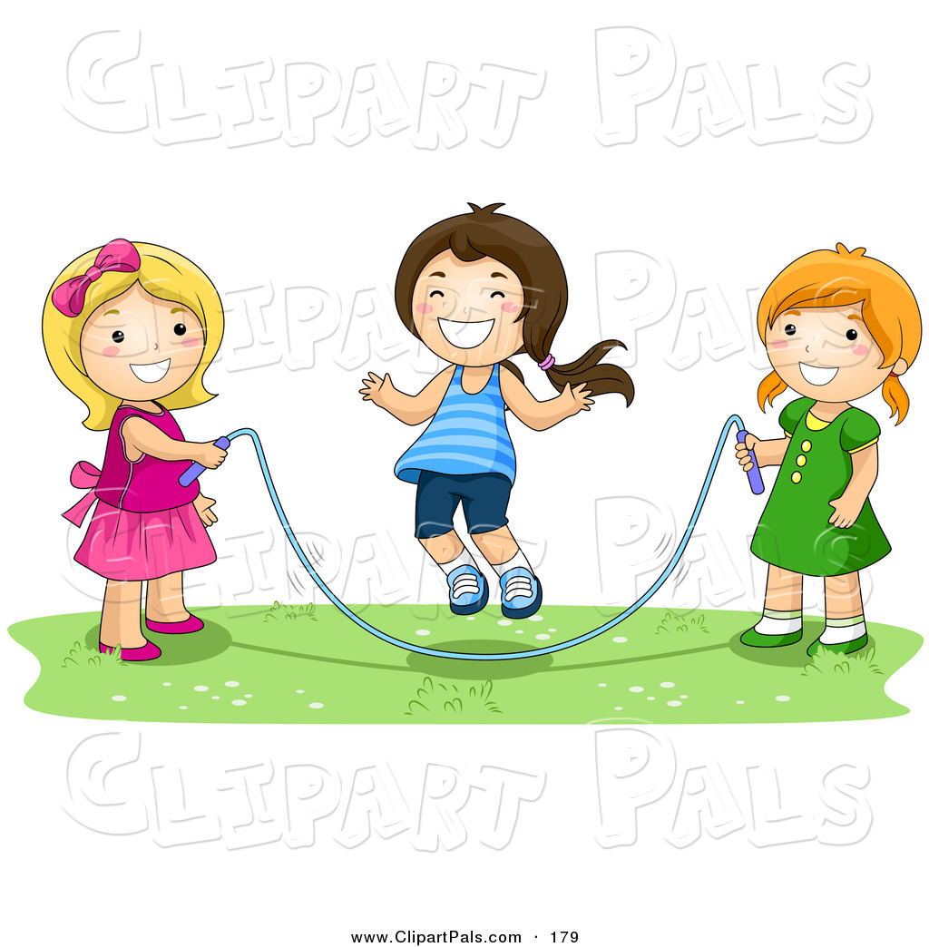 Girl playing clipart 5 » Clipart Station.