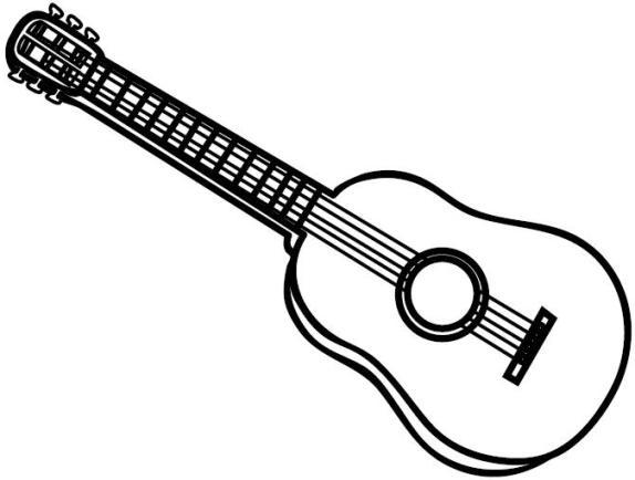 Gitarre clipart 6 » Clipart Station.