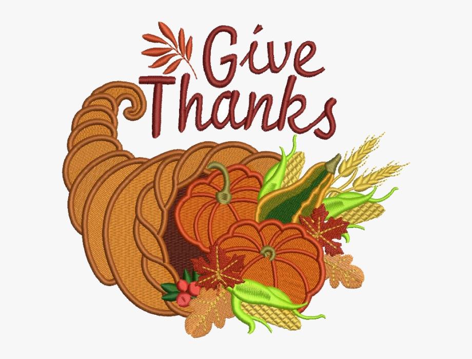 Cornucopia X Give Thanks Thanksgiving Filled Machine.