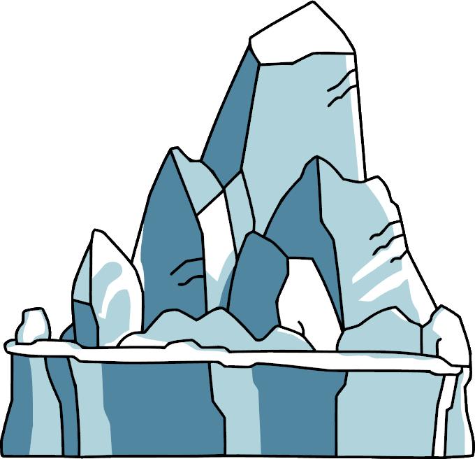 57 Glacier free clipart.