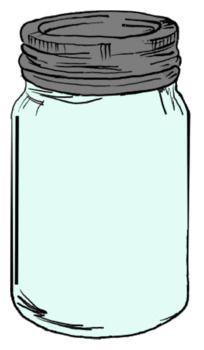 Mason Jar Clip Art.