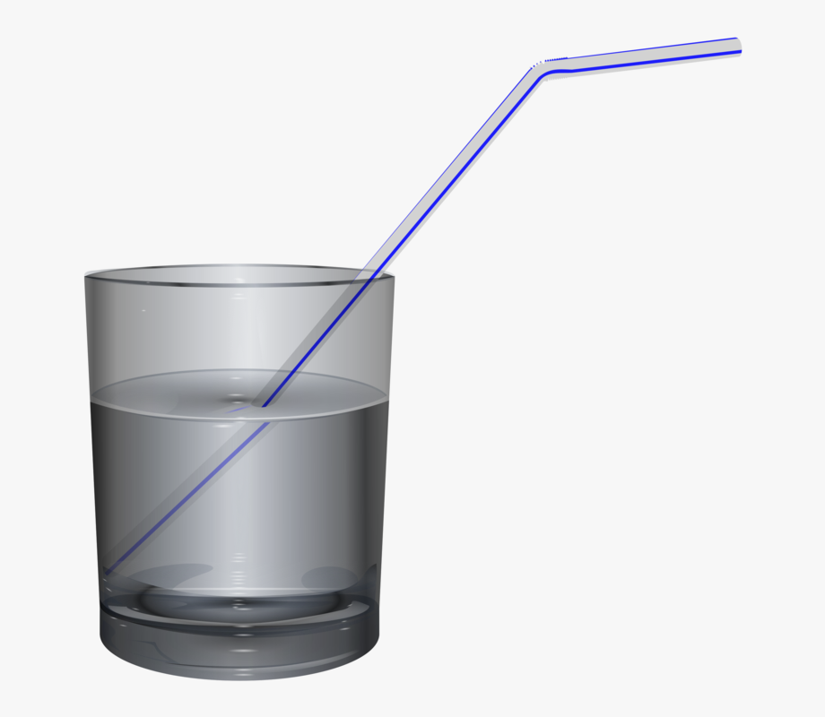 Glass Clipart Straw.