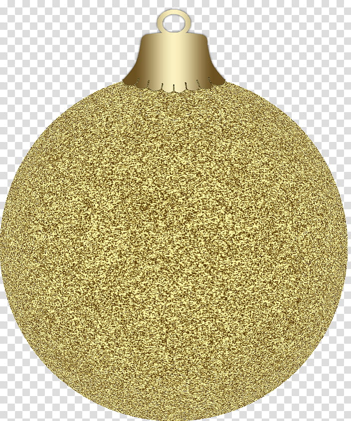 Christmas, gold glittered Christmas baubles transparent.