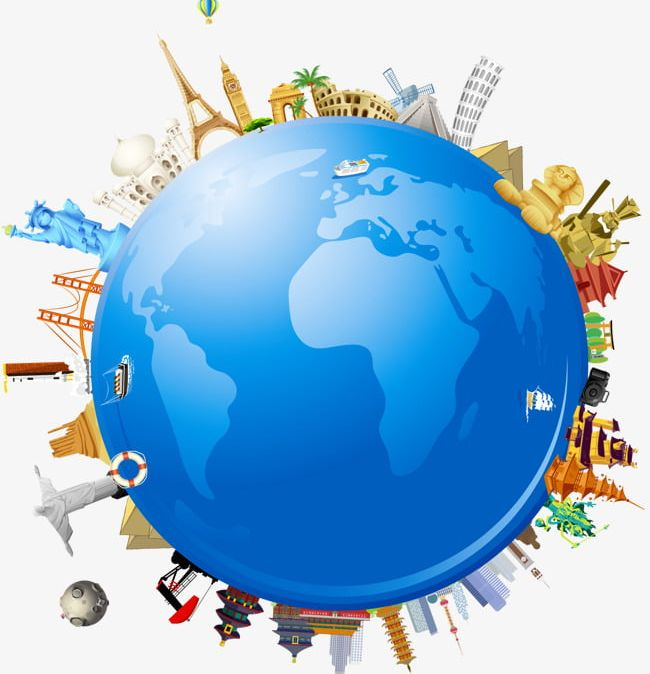 Global Earth Globe Travel World Architecture PNG, Clipart.