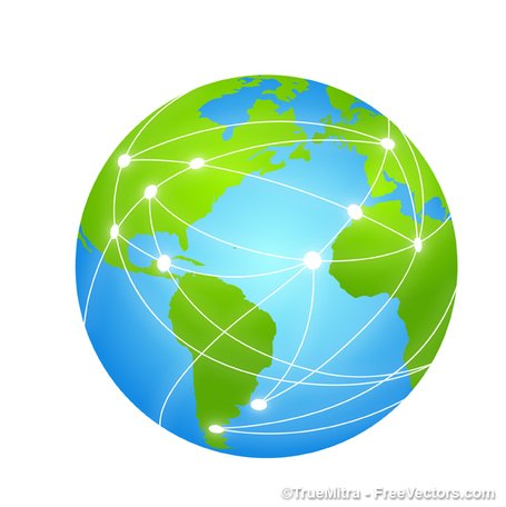 Free Global Networking Clipart and Vector Graphics.