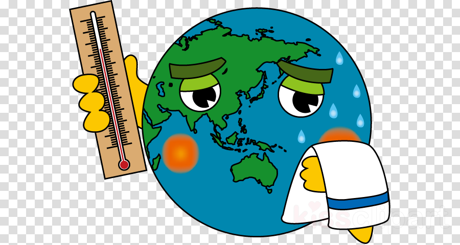 Global Warming Cartoon clipart.