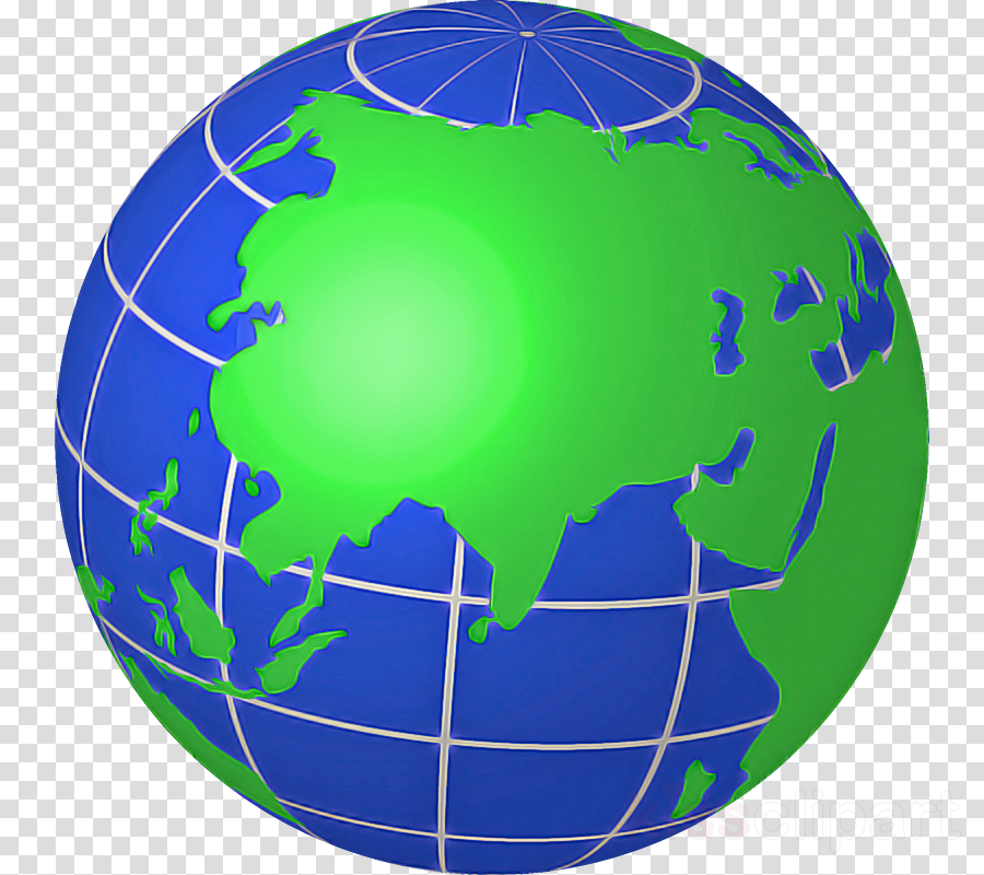 globe earth world planet sphere clipart.
