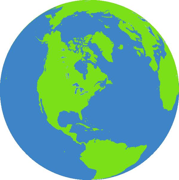 Color Globe Clip Art at Clker.com.