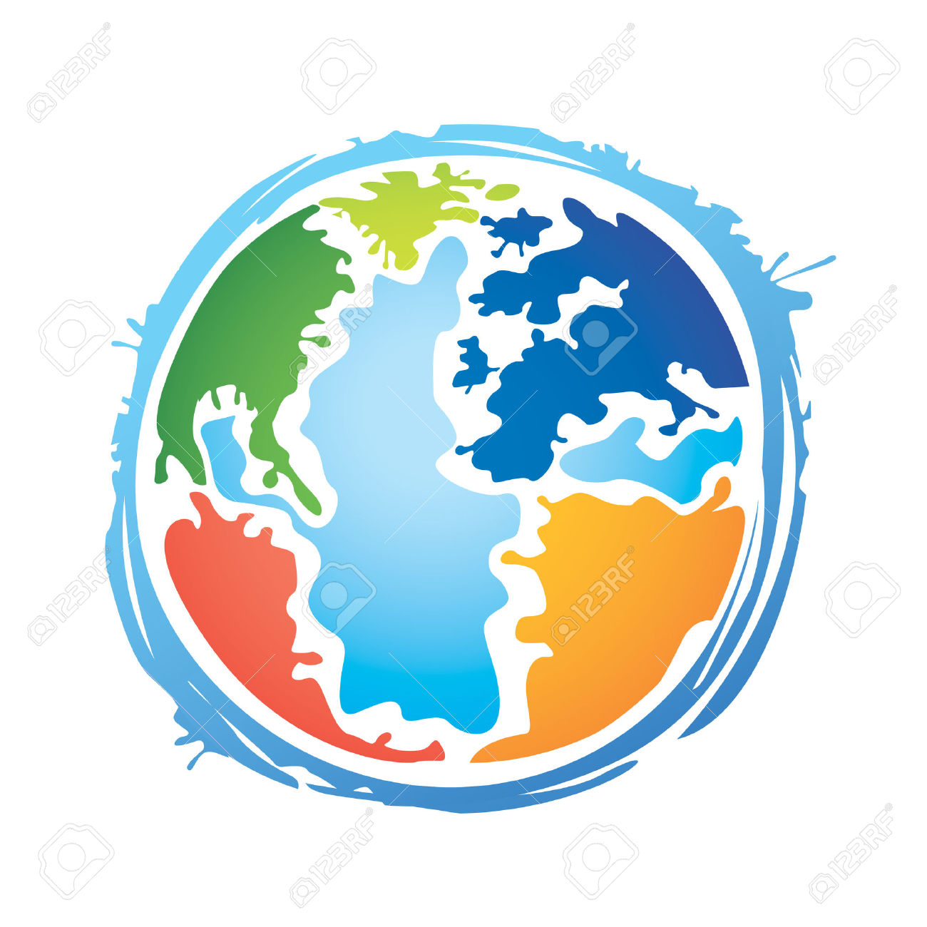 Color Planet Royalty Free Cliparts, Vectors, And Stock.