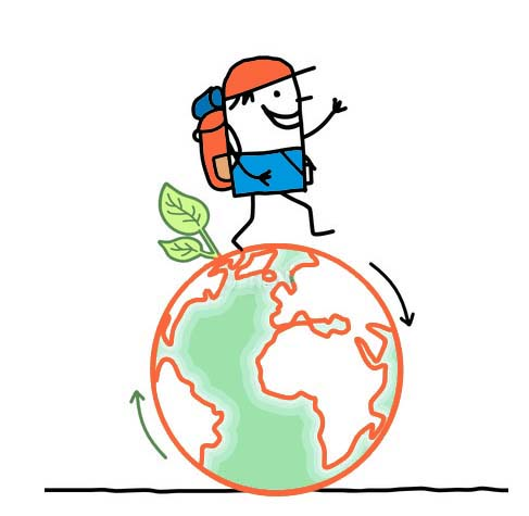 Globe trotter clipart 3 » Clipart Station.