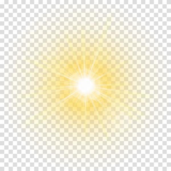 Light Glory , Golden Sun, sunlight transparent background.