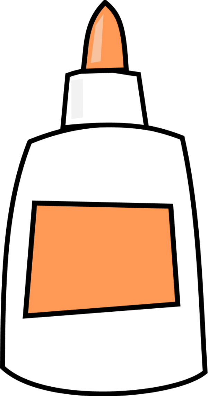 Glue Bottle Clipart.