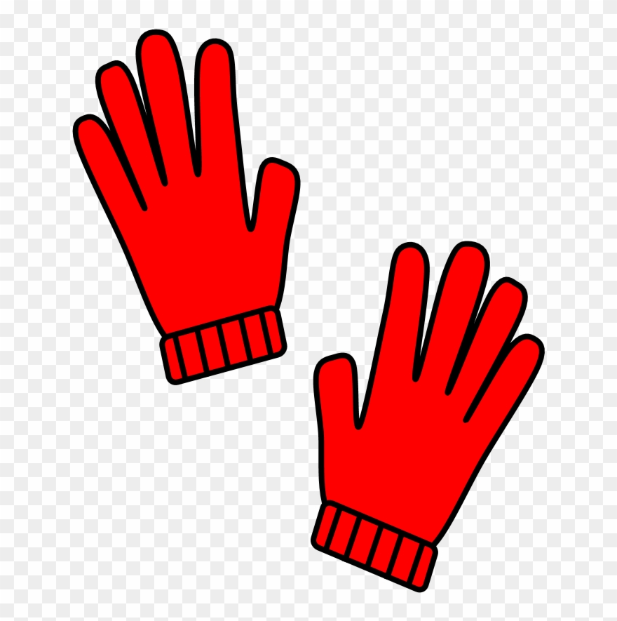 Gloves clipart red glove, Gloves red glove Transparent FREE.