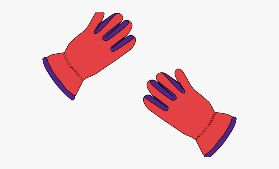 Clipart Winter Gloves Transparent, Cliparts & Cartoons.