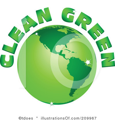 Go Green Free Clipart #1.