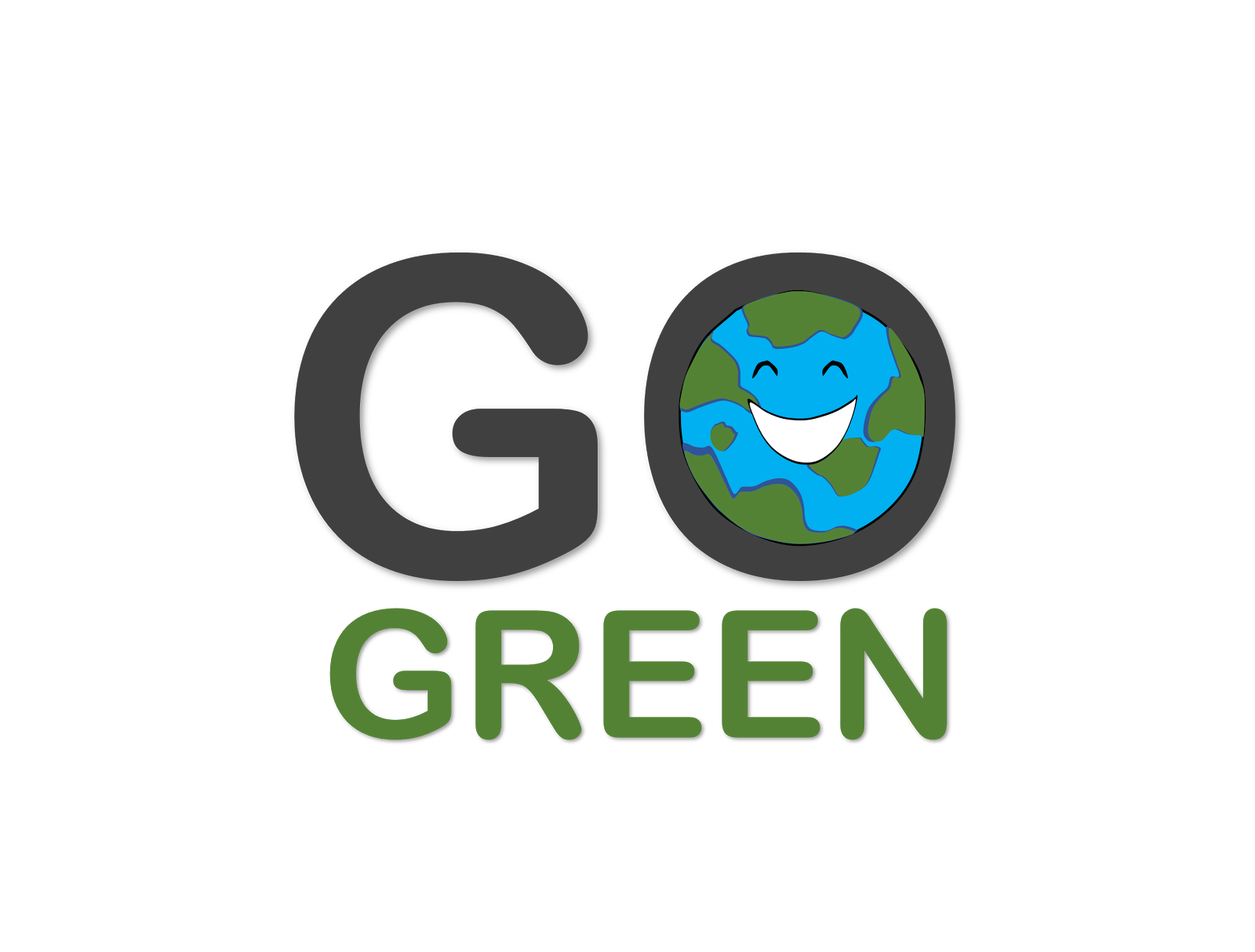 Go Green Clipart.