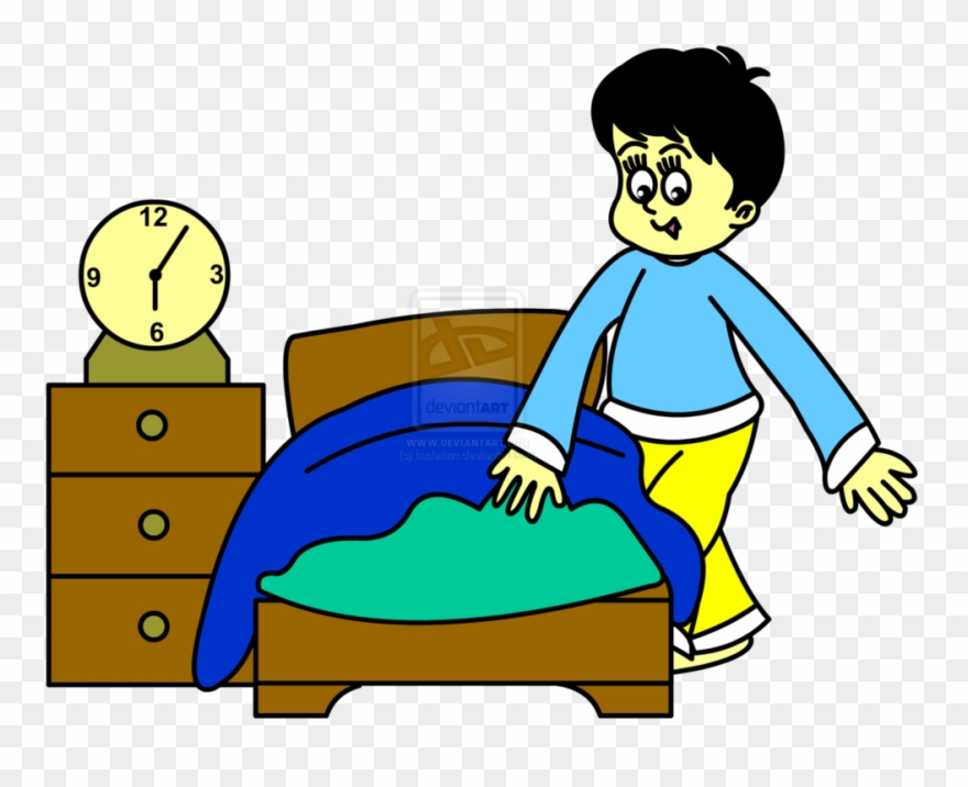 Bed Clipart Someone.