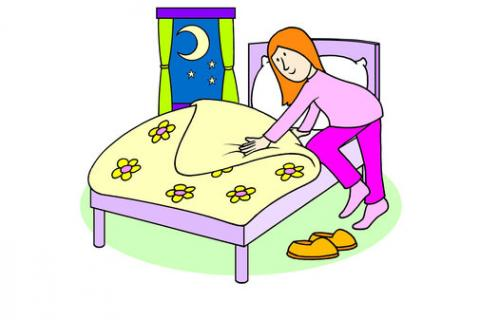 Going To Bed Clipart Group with 70+ items.