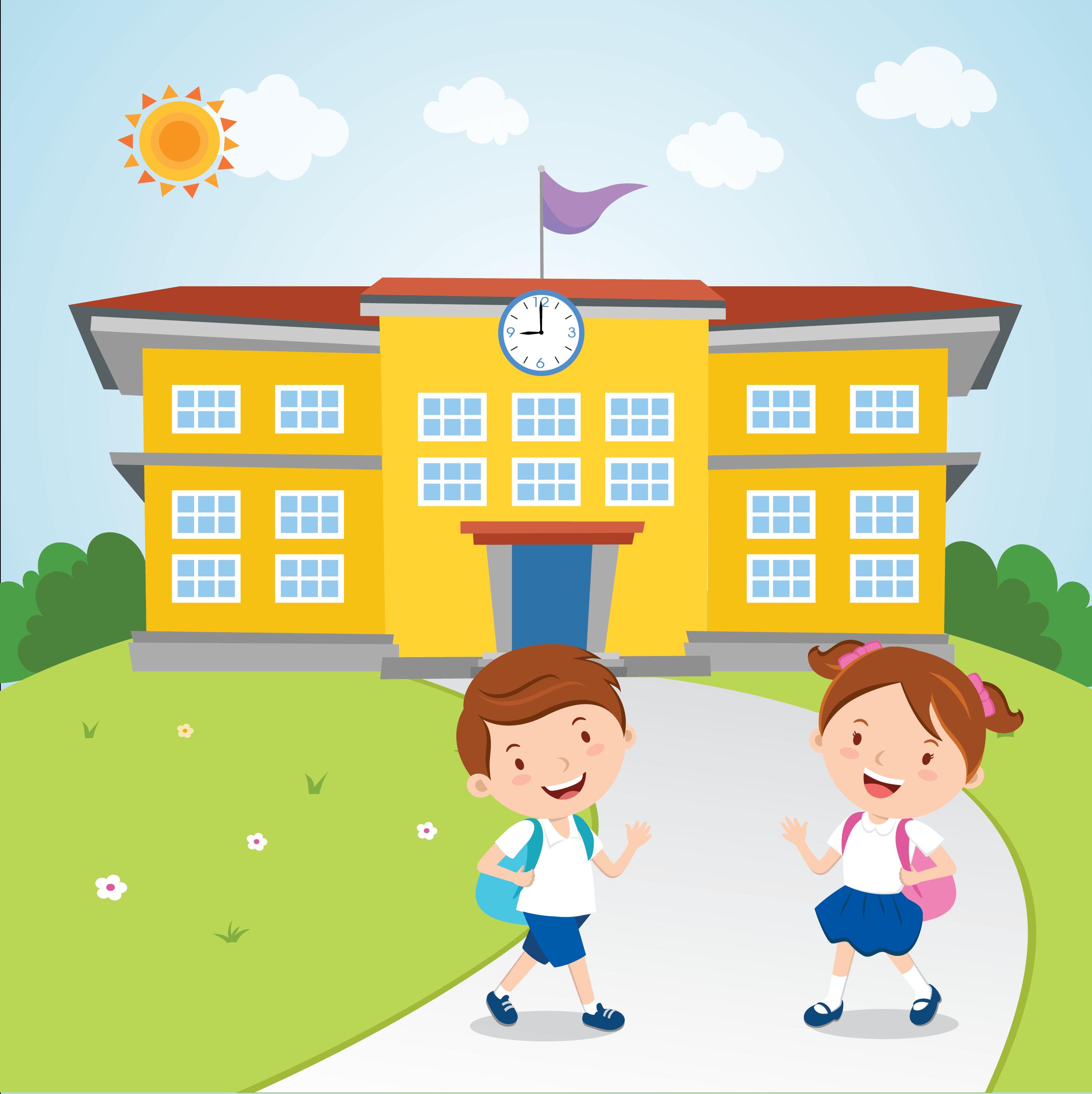 Kids Go to School.
