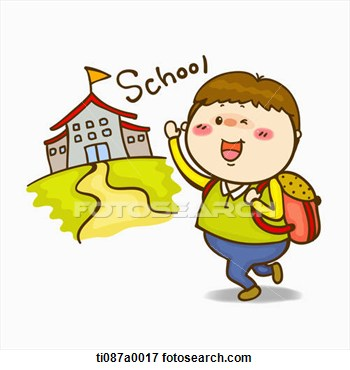 39+ Going To School Clipart.