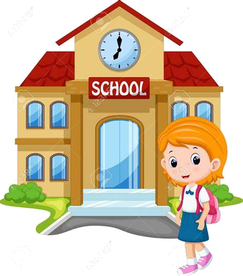 School Go To Clipart Going Hasshe Clip Art Transparent Png.