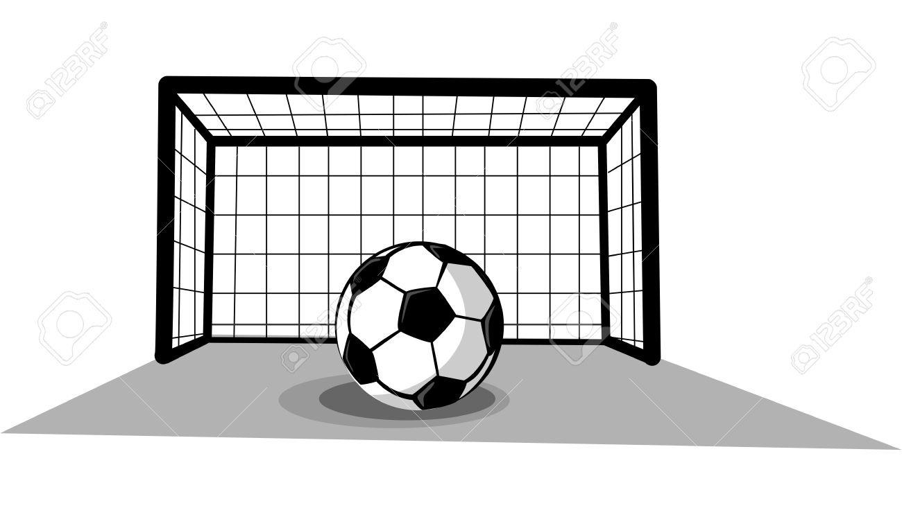Soccer Clipart Goal.
