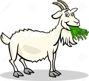 Free Clipart Of Goats.