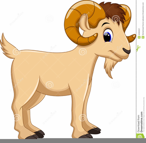 Clipart Free Goat.