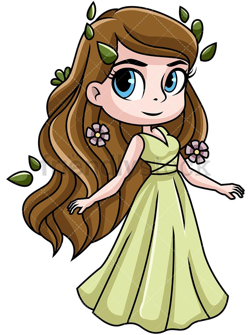 Demeter Goddess Of The Harvest.