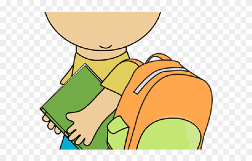 Children Going To School Clipart.