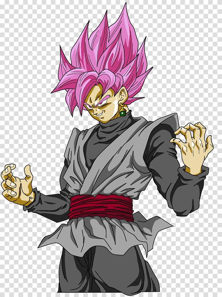 Black Goku transparent background PNG clipart.