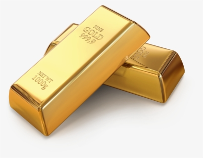 Free Gold Bar Clip Art with No Background.