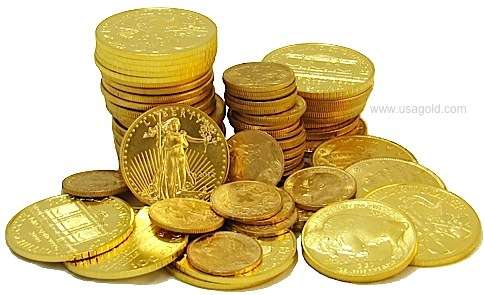Todays Gold Coin Prices.