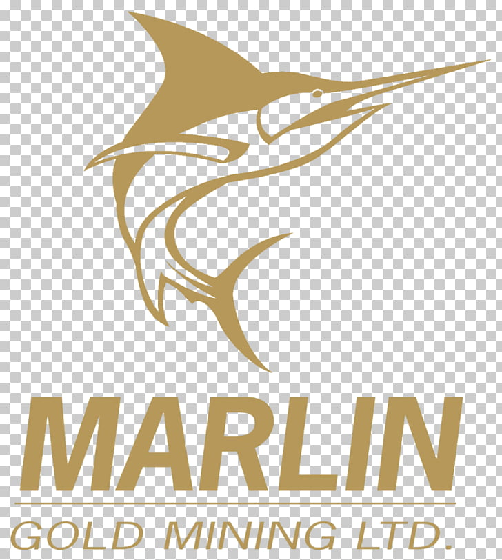 Marlin Gold Mining Business Corporation Sailfish, gold PNG.