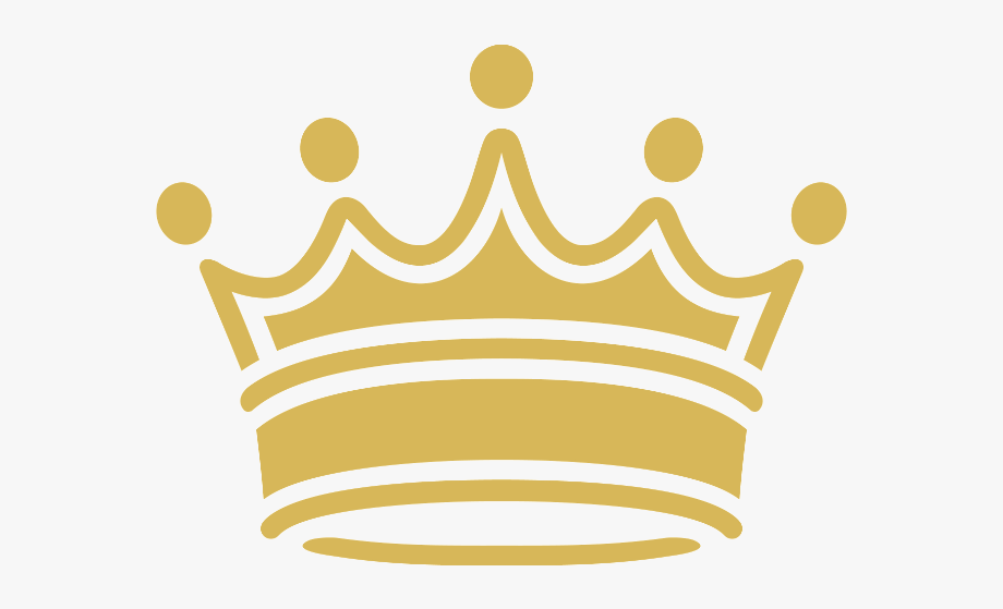 Gold Crown Clipart Transparent Background Collection.