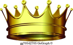 Gold Crown Clip Art.