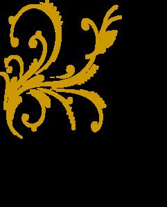 Gold Design Clipart.