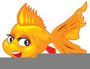 Clipart Gold Fish.