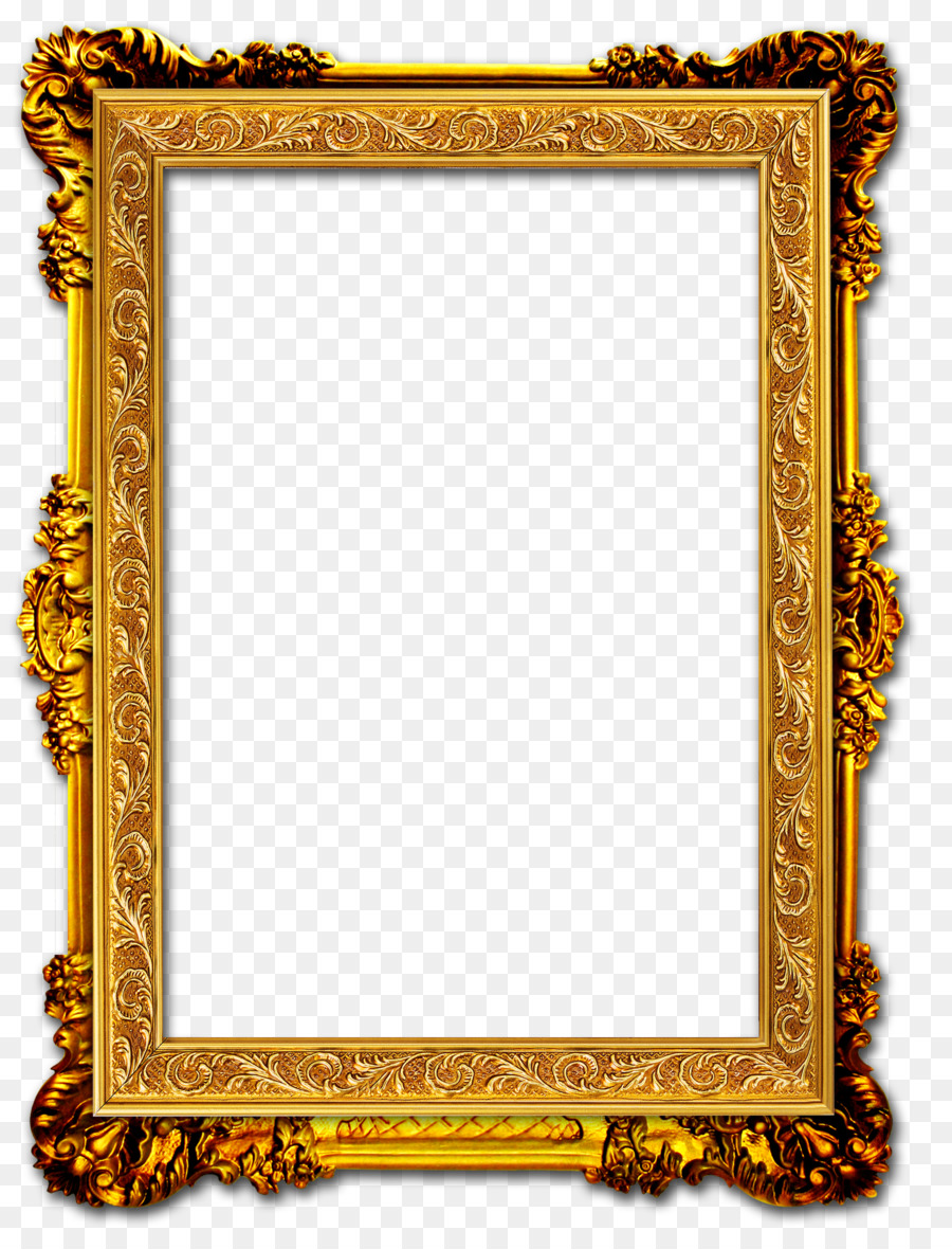 Gold Background Frame clipart.