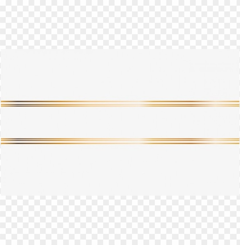 gold line clipart PNG image with transparent background.