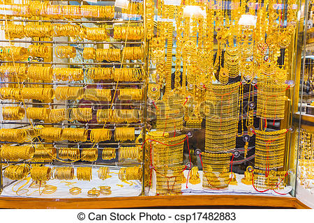 Gold Market Clipart.