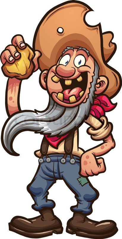 Gold miner clipart 9 » Clipart Station.