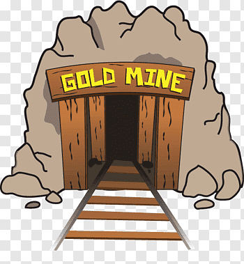Gold Mining cutout PNG & clipart images.