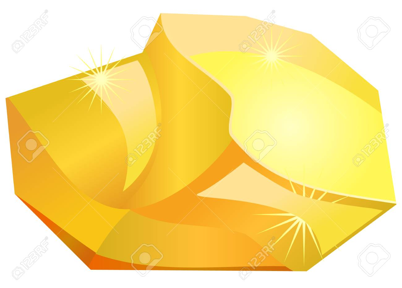 Gold nugget clipart 5 » Clipart Station.