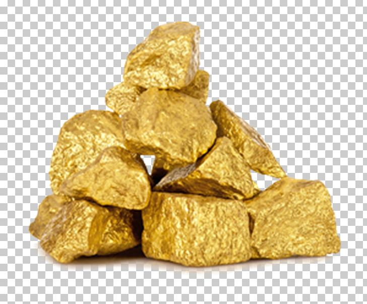 Gold Nugget Chicken Nugget Metal Stock Photography PNG.