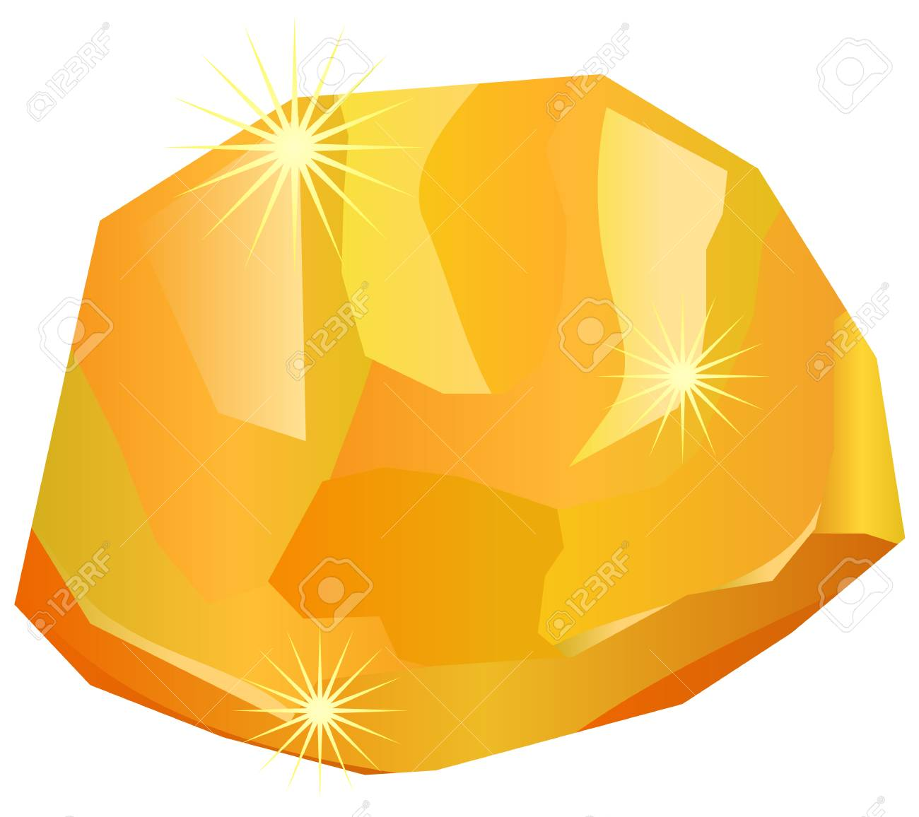Gold nugget clipart 2 » Clipart Station.