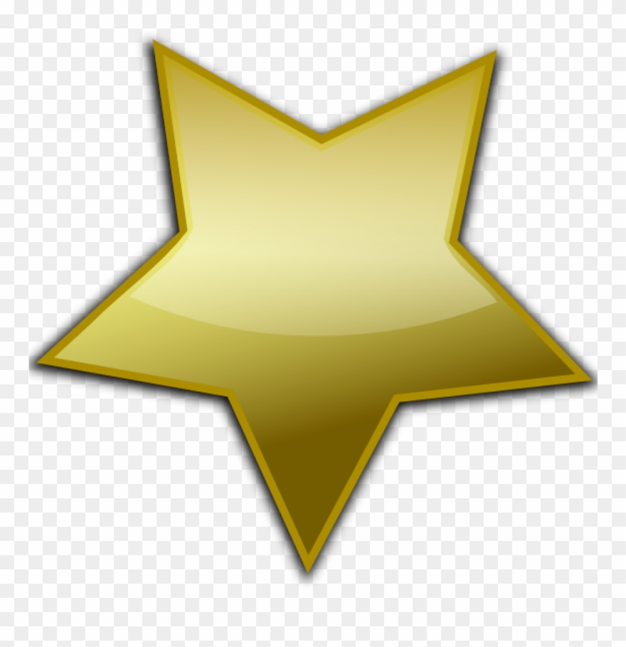 Gold Star Clipart Clip Art At Clker Vector Online Royalty.